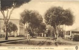 Pays Div- Guinée - Ref F977- Conakry - Chemin De Fer De Conakry Au Niger -grande Vitesse- Carte Bon Etat  - - Guinée