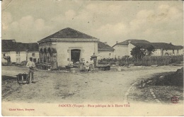 PADOUX -place Publique De La Haute-Ville  -ed. Cliché Voinet - France