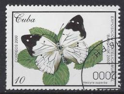Cuba  2000  Butterflies  (o) - Cuba