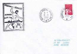 LETTRE BCR  LE VAR   OPERATION HERACLES ALINDIEN BPN 19/11/2001 - Marcophilie (Lettres)