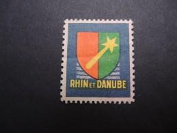 FRANCE - Vignette Rhin Et Danube - P20209 - Vignettes Militaires