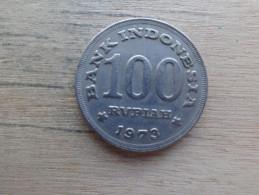 Indonesie  100  Rupiah  1973  Km  36 - Indonesia