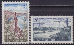 4875. Luxembourg 1967 Landscapes, MNH (**) Michel 757-758 - Luxembourg