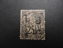 CONGO FRANçAIS - N° 4Aa - Surcharge Verticale - Cote : 130 Euros - Très Beau - A Voir - P20213 - Congo Français (1891-1960)
