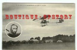 PILOTE < AVIATEUR LEGAGNEUX Sur BIPLAN FARMAN - AVIATION AEROPLANE AVION - Aviateurs