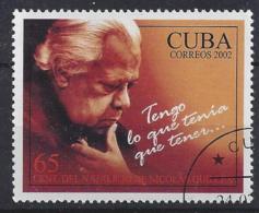 Cuba  2002  Nicolas Guillen  (o) - Cuba