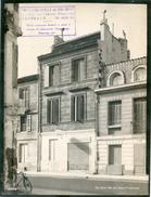 BORDEAUX 1950 /RUE DE CHARTREUSE N°20  DEVANTURE COMMERCE TEINT / QUARTIER MERIADECK AVANT DEMOLITION / FORMAT 24X18 CM - Places