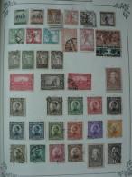 Collection YOUGOSLAVIE 1918 - 1974 Sur Feuilles D´album Neuf Et Oblitéré - A Examiner - 12 Scans - Sammlungen (im Alben)