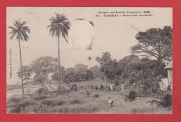 Konakry  --  Boulevard Circulaire --  Abimée - Guinea