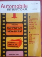 Revue Américaine Automobile International Février 1963, Nombreuses Pub Jeep, Nissan Patrol, General Motors ..., - Magazines & Newspapers