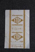 """Etui à Cigarette  , 20 Cigarettes """" STOP SUPERIEURES """". - Etuis à Cigarettes Vides"""