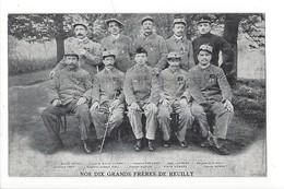 15576 - La Famille Du Rameau D'Olivier Carte N°10 Nos Dix Grands Frères De Reuilly - Weltkrieg 1914-18