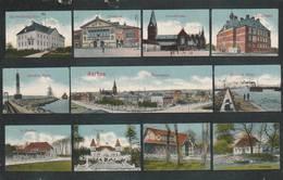 Aarhus  -  Scan Recto-verso - Danemark