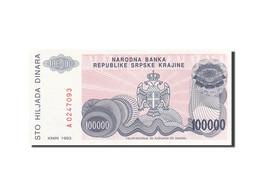 Croatie, 100,000 Dinara, 1993, 1993, KM:R22a, SPL - Croatie