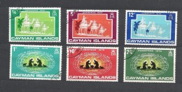 CAYMAN ISLANDS 1970 Christmas 275/280 USED - Cayman (Isole)
