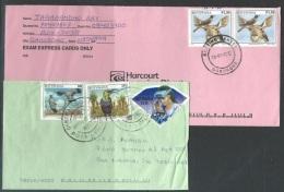 Botswana     1997-2001  4 Birds & 2p Diamond On 2 Covers - Botswana (1966-...)
