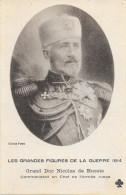 LE GRANDES FIGURES DE LA GUERRE 1914 GRAND DUC NICOLAS DE RUSSIE 1919 - Personnages