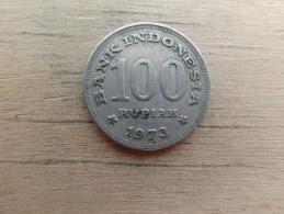Indonesie  100  Rupiah  1973  Km 36 - Indonésie