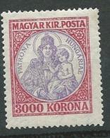 Hongrie    - Yvert N°365 *   Abc18811 - Hongrie