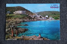 """ROSAS - Las Cristallines Aguas De """" La ALMADRABA"""". - Espagne"""