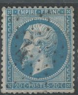 Lot N°32164  N°22, Oblit étoile Chiffrée 4 De PARIS (R.d'Enghein) - 1862 Napoleon III
