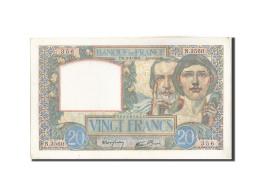 France, 20 Francs, 20 F 1939-1942 ''Science Et Travail'', 1941, 1941-04-03, K... - 1871-1952 Anciens Francs Circulés Au XXème