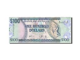 Guyana, 100 Dollars, 1989-1992, Undated (1989), KM:28, TTB - Guyana