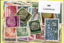 100 Timbres Thème Luxembourg - Luxembourg