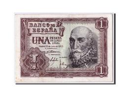 Espagne, 1 Peseta, 1953, KM:144a, 1953-07-22, SPL - [ 3] 1936-1975 : Régence De Franco