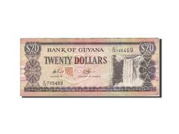 Guyana, 20 Dollars, 1989-1992, Undated (1989), KM:27, TB - Guyana