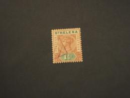 ST. HELENA - 1890/7 REGINA  1 1/2 - TIMBRATO/USED - Isola Di Sant'Elena