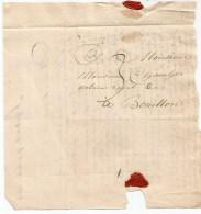 Lettre De NEUFCHATEAU  Cachet Linéaire Noir . Ecrite De Saint-Hubert Le 27 Octobre 1824 - 1815-1830 (Dutch Period)