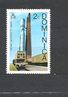 Dominica Vicking Mission To Mars  USED - Montserrat
