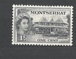 MONSERRAT    1953 -1957 Queen Elizabeth II, Local Motifs 130   - USED - Montserrat