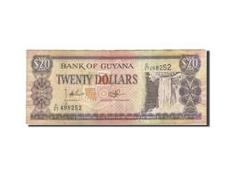 Guyana, 20 Dollars, 1989-1992, Undated (1989), KM:27, TB+ - Guyana