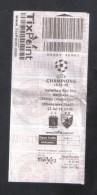 MALTA - CHAMPIONS LEAGUE -  ( 15 EUROS )  VALLETTA F.C. Vs RED STAR  MATCH TICKET - Match Tickets
