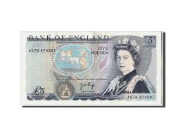 Grande-Bretagne, 5 Pounds, Undated (1973-80), KM:378b, SUP+ - 1952-… : Elizabeth II