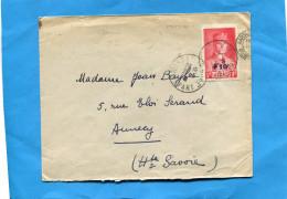 Seul Sur Lettre -N° 494 Pétain +10c-cad Marseille  Mai 1941 - Poststempel (Briefe)