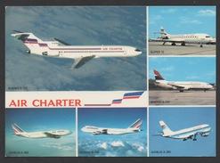 DF / TRANSPORTS / AVIATION / AVIONS DE LA FLOTTE D' AIR CHARTER FILIALE D'AIR FRANCE / BOEING / AIRBUS / SUPER10 - 1946-....: Ere Moderne