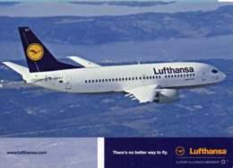 Boeing B.737-300 D-ABXT Lufthansa Air B 737 Avion Aviation B-737 Aiplane Planes Flugzeuge B-737 Lufthans Airlines - 1946-....: Moderne