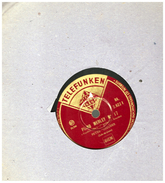 Disque 78 Tours  Piano Medley PETER KREUDER   N 17  TELEFUNKEN   2.922.1 - 78 Rpm - Gramophone Records