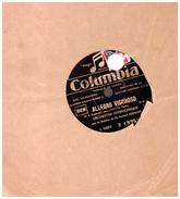 Disque 78 Tours   ALLEGRO  VIGOROSO   ORCHESTRE SYMPHONIQUE    ARMAND BERNARD REPROCHES  Orchestre Lutetia Wagram - 78 Rpm - Gramophone Records