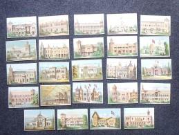 CHROMO Exposition Universelle De PARIS 1878: Lot 24 Pavillons Différents Des Pays Participants - Même Série - Other