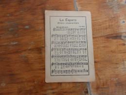 La Esperanto Himno Esperanto - Esperanto