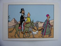 Tintin Hergé Moulinsart  CP N° 162 Etat Neuf - Bandes Dessinées