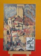 FDC Carte Maxi- Crest - 26 Crest - 28.11.1981 - 1er Jour, Coté 2 € - Cartes-Maximum