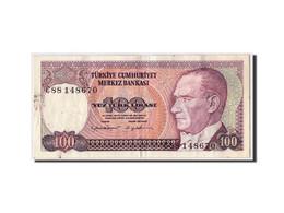 Turquie, 100 Lira, L.1970 (1984), KM:194b, TTB - Turquia