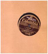 Disque 78 Tours Les Compagnons De La Chanson  La Marie L Ours   Columbia  Bfx 18 - 78 Rpm - Gramophone Records