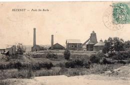 03-Allier,Bézenet- Puits Ste Barbe - Mines