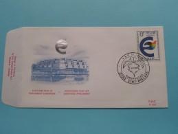 ELECTION / VERKIEZINGEN EUROPESE PARLEMENT EUROPEEN ( F.D.C. P. 555 ) SINT-NIKLAAS 3-3-1979 ( Zie Foto ) ! - FDC